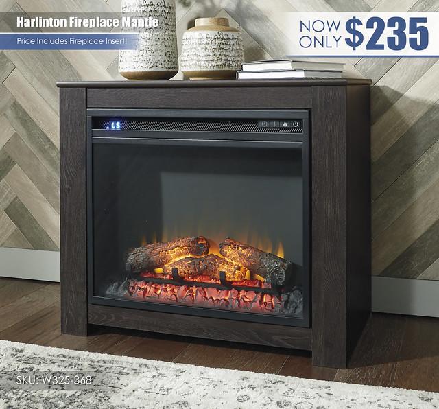 Harlinton Fireplace Mantle_W325-368-ON