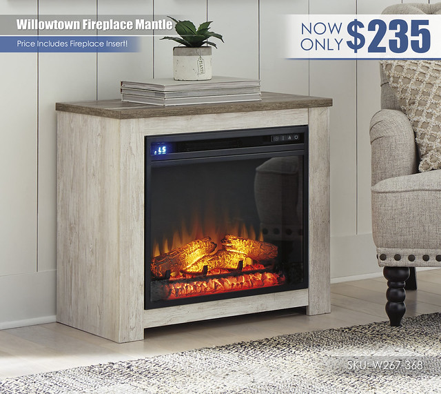 Willowtown Fireplace Mantle_W267-368-ON