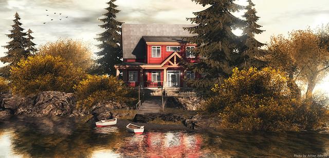 Trompe Loeil - Farrowhill Craftsman Cottage♥