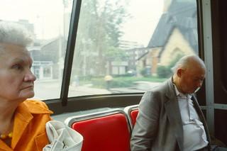 TTC Streetcar, Toronto, 1983