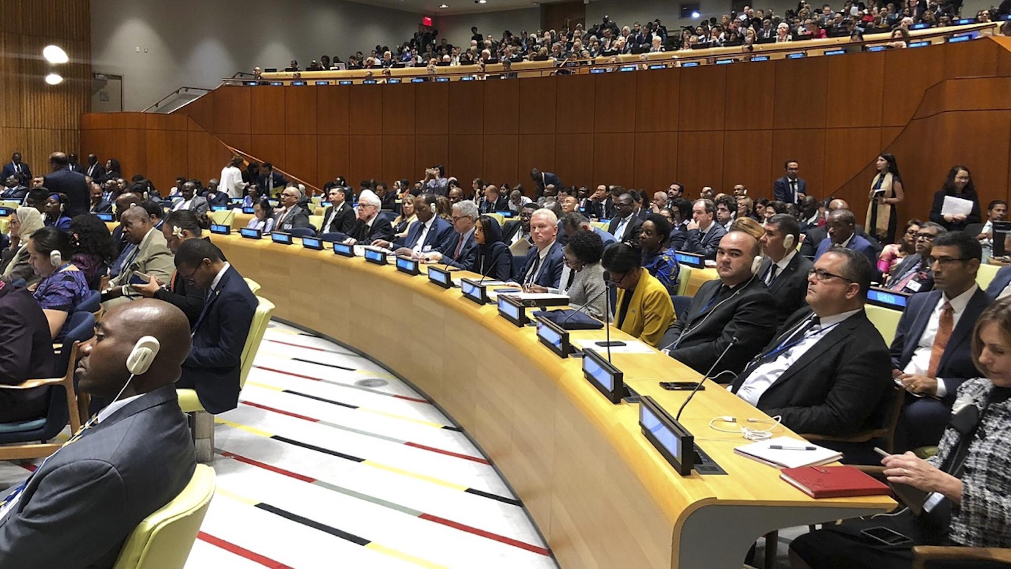 Ministro del Poder Popular para la Salud, Carlos Alvarado participa en la reunión de alto nivel sobre Cobertura Sanitaria Universal, en el marco del 74° Periodo de Sesiones de la Asamblea General de la ONU