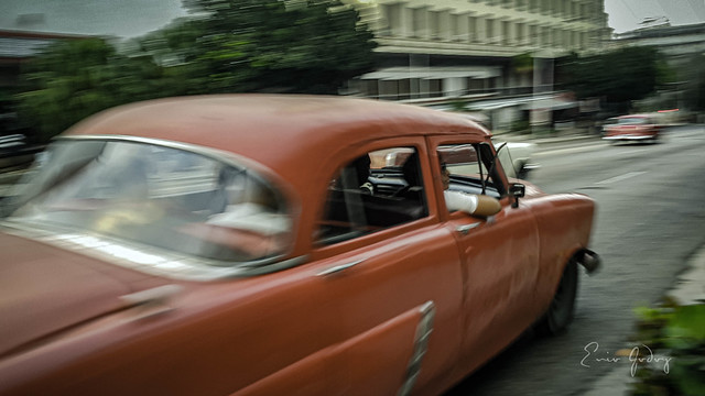 Old Car - red car