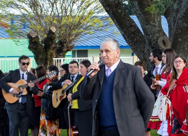 Desfile anual de Fiestas Patrias en Chiguayante y servicio de gratitud a Dios