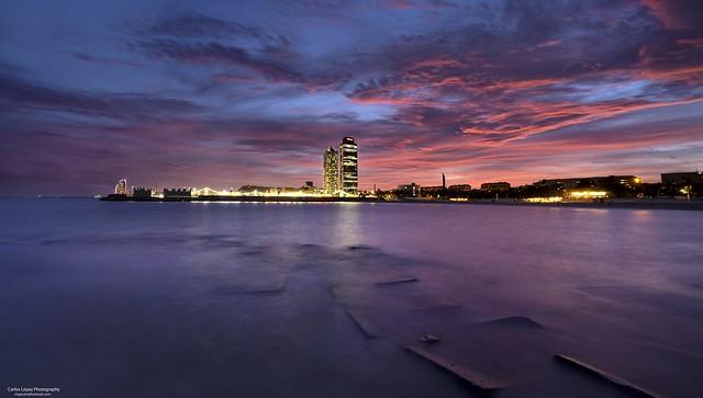 Atardecer / Sunset (Barcelona)