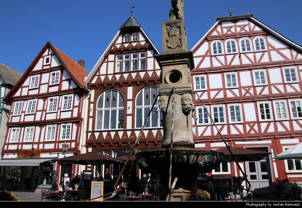 Marktplatz, Fritzlar, Germany
