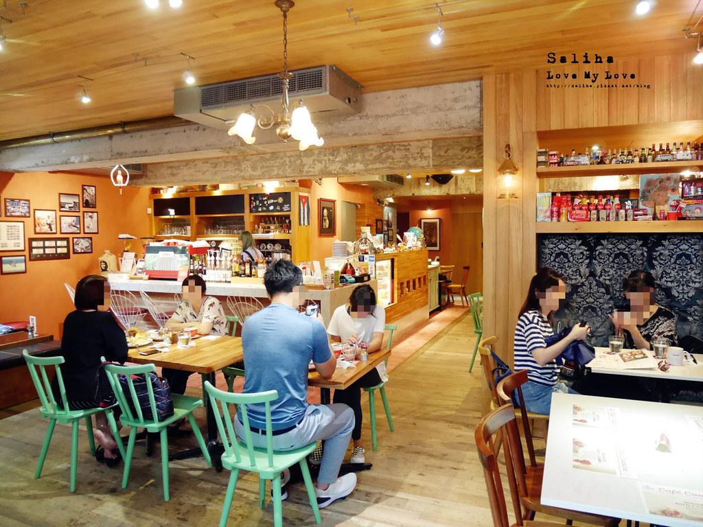 台北松山區民生東路cafe Coabana古巴娜咖啡好吃異國風好拍早午餐 (3)
