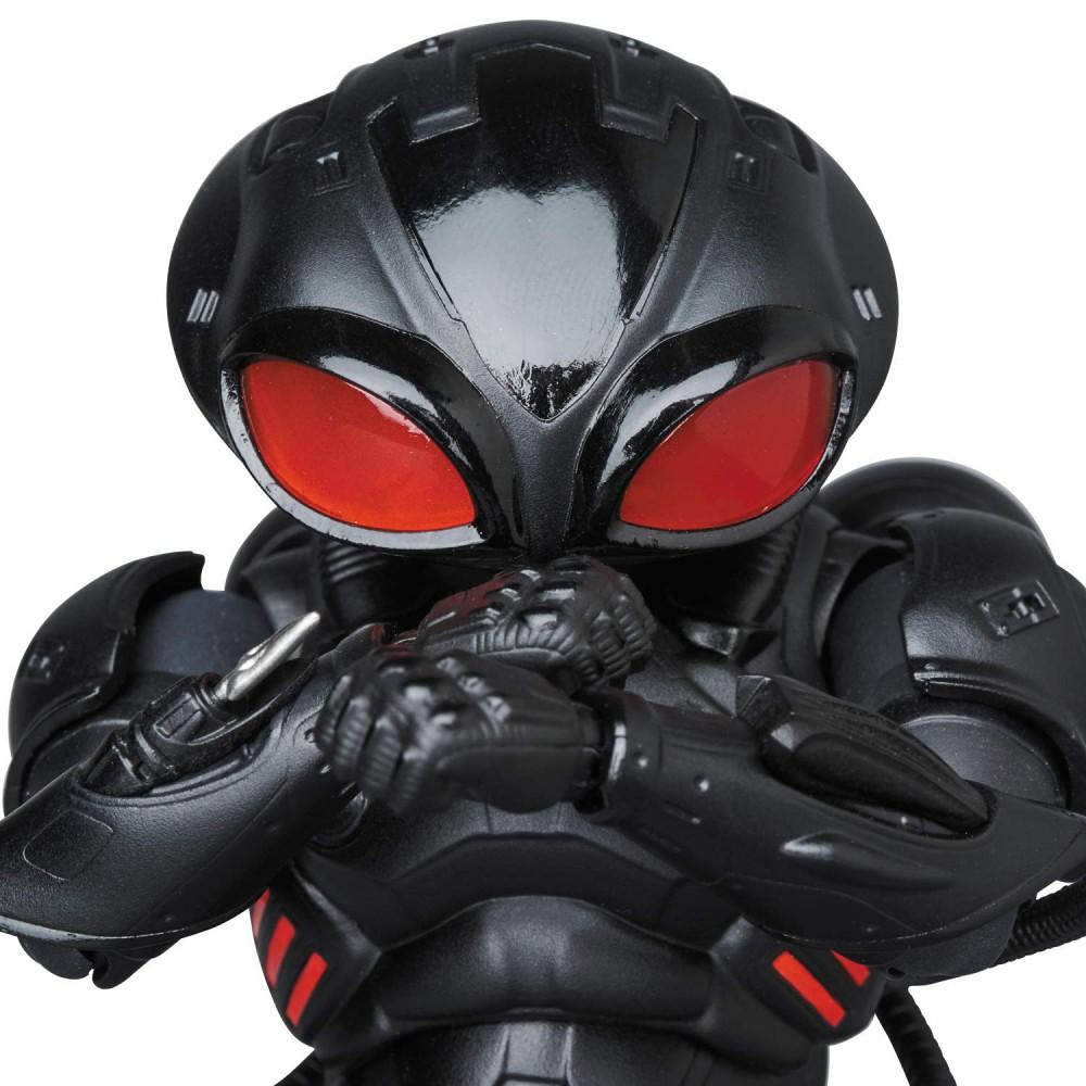 海王的宿敵、恐怖的黑色身影來襲! MAFEX《水行俠》黑蝠鱝 AQUAMAN BLACK MANTA ブラックマンタ
