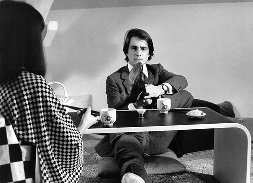 Jean-Pierre Léaud and Hiroko Berghauer in Domicile Conjugal (1970)