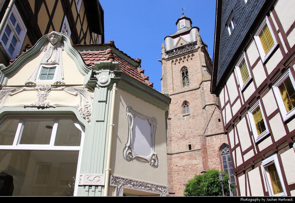 Kirchplatz, Bad Wildungen, Germany
