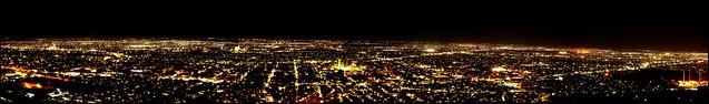 Panorámica Nocturna de Torreón