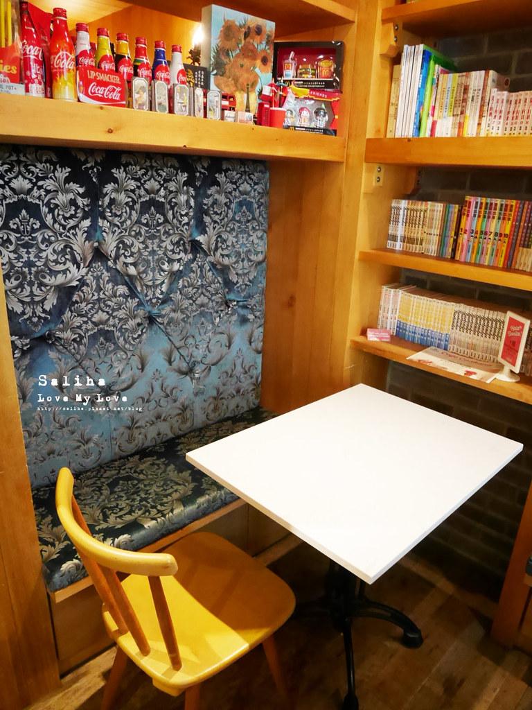 台北松山區民生東路cafe Coabana古巴娜咖啡特色主題餐廳推薦下午茶氣氛舒服適合看書 (3)