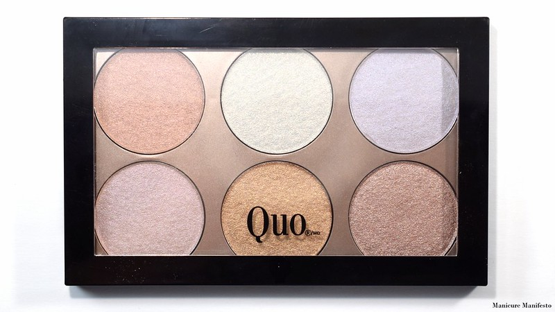 Quo Highlight & Glow Swatch