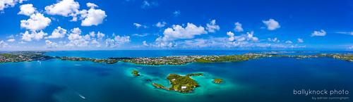 paradise trunkisland drone landscape nature harringtonsound seascape mavicpro2 ocean bermuda smithsparish