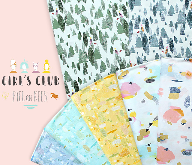 COTTON+STEEL Girl's Club Collection by PIETenKEES