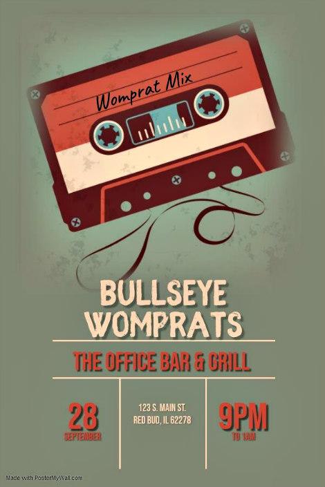 Bullseye Womprats 9-28-19