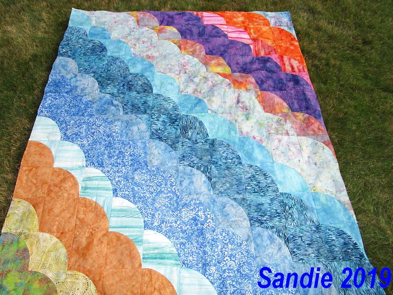 Sandie's August Quilt