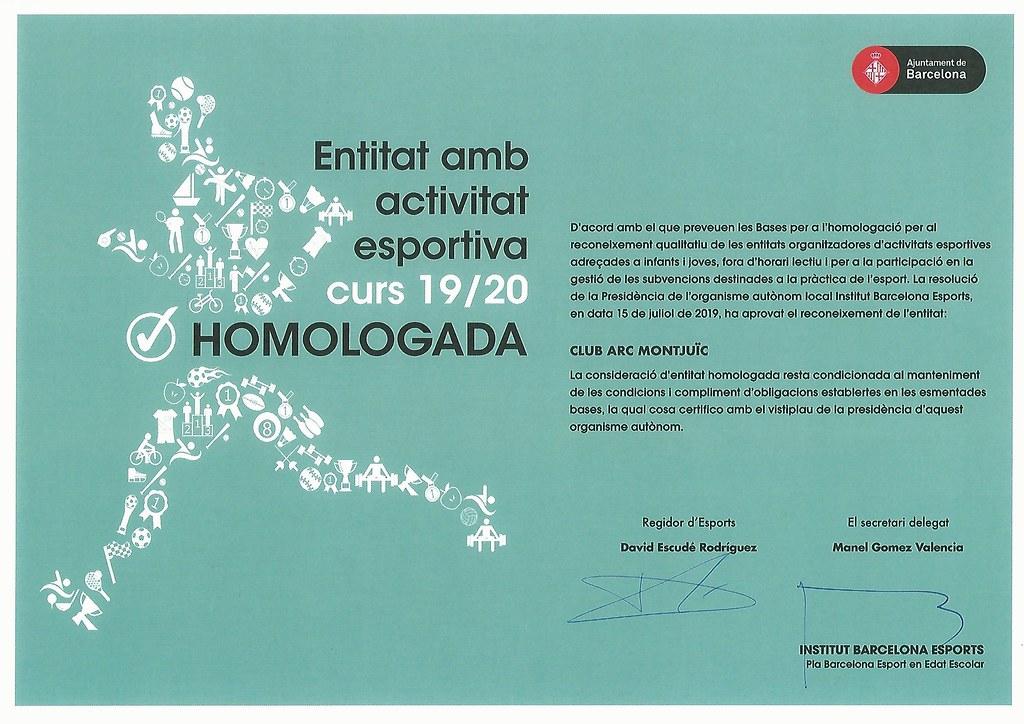 Homologació Escola Club Arc Montjuïc i Reunió Families - 9 i 12/09/2019 - clubarcmontjuic - Flickr