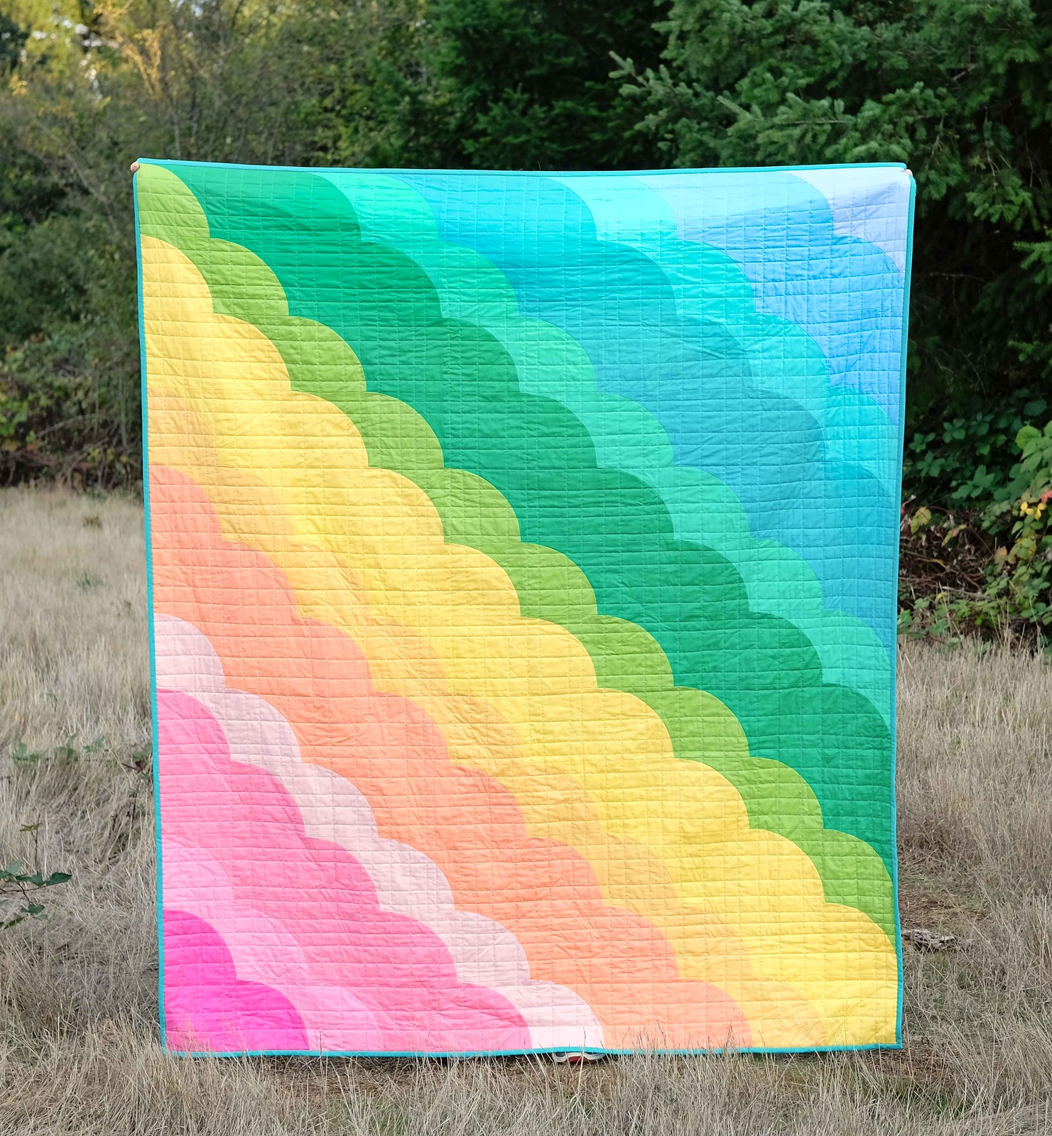 The August Quilt Pattern - Kitchen Table Quilting