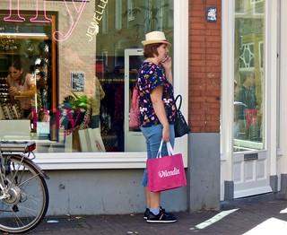 Shopping zaterdag in Den Bosch .