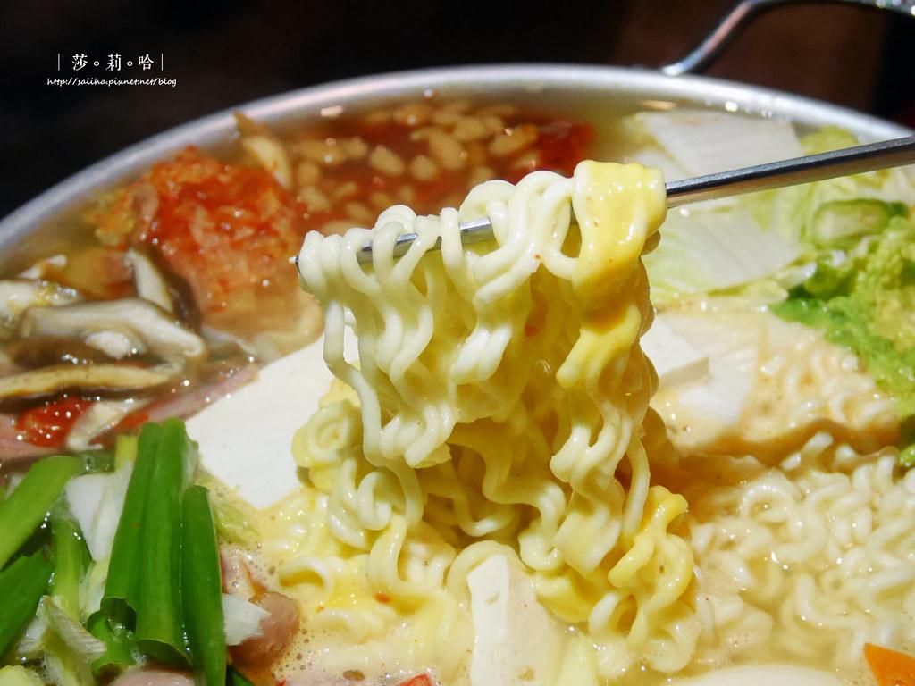 台北大安區Pocha韓式熱炒部隊鍋韓式料理