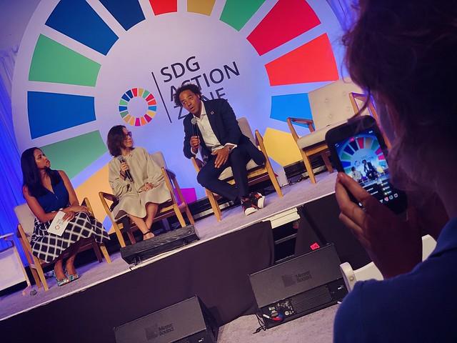 Marina Ponti_Dawda Jobarteh_SDG Action Zone 2019