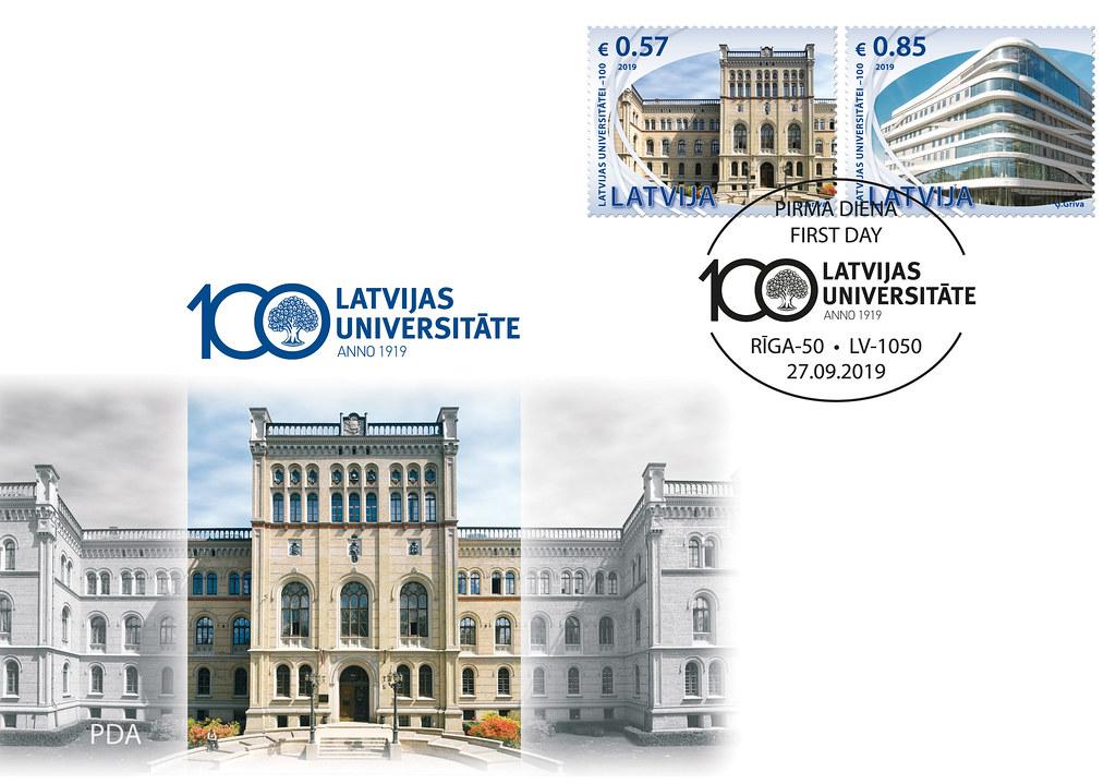 Aploksne - Latvijas Universitātei 100