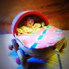 Vintage Doll's Pram