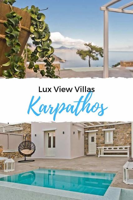 Lux View Villas, Kyra Panagia | Vakantie Karpathos