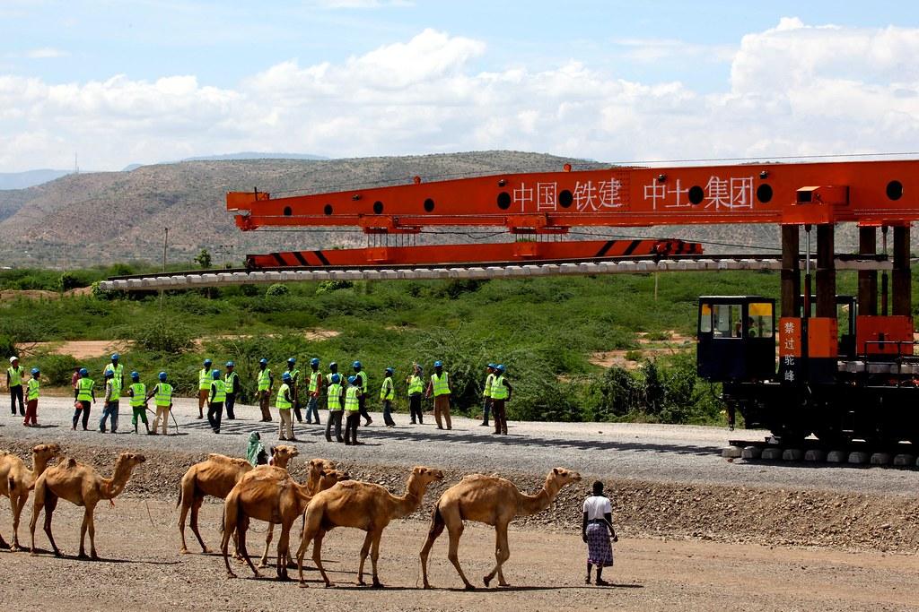 耗資約40億美元的衣索比亞吉布地鐵路將從阿迪斯阿貝巴到吉布地港的旅行時間從三天減少到12小時。圖片來源:Alamy