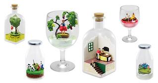 瓶中的美麗小世界!RE-MENT 盒玩「憧憬的各國生活」(Petit Terrarium あこがれの Country Life)