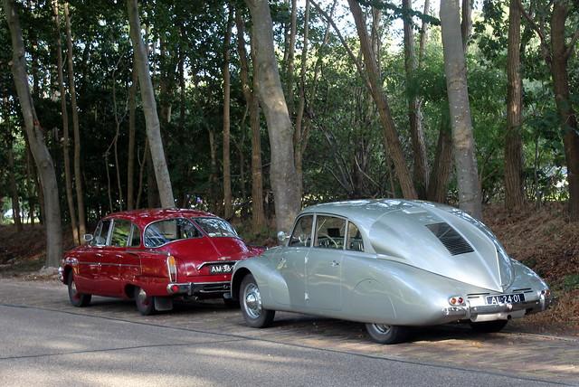 1971 Tatra 603 and 1939 Tatra T87