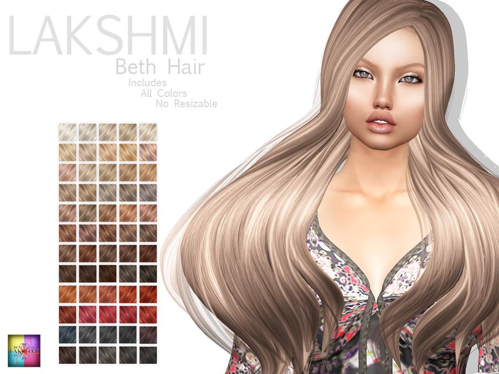 [LAKSHMI]Beth Hair