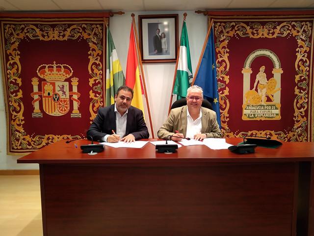Acuerdo PSOE - Cs Bormujos