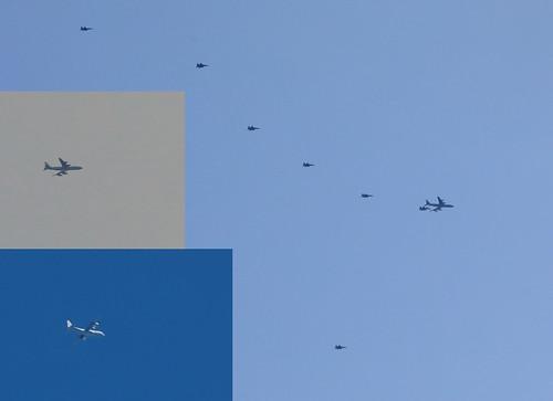 israelidefenceforce boeing kc7073l6c reem 272 264 tanker airtoair refuelling formation c130j hercules 667 dotspotting cobrawarrior 2019 giant02 iaf472 giant01