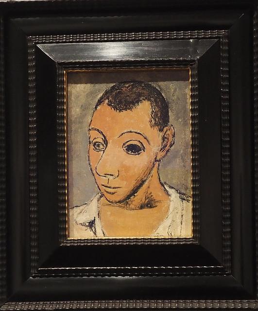 Picasso self-portrait – Museum Metropolitan of Art - New York