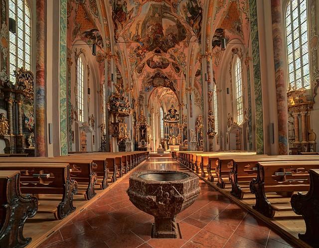 Hall in Tirol , Pfarrkirche St. Nikolaus