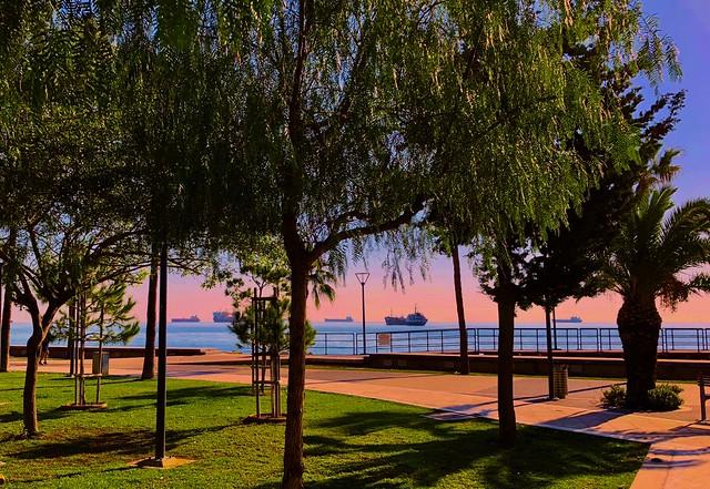 Horizon colours - Limassol, Cyprus