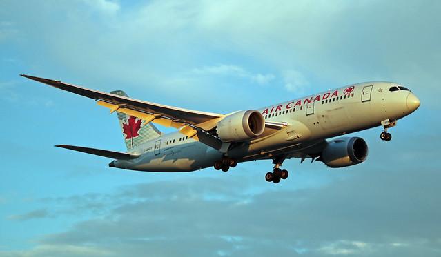 C-GHQY EGLL 05-07-2019 Air Canada Boeing 787-8 Dreamliner CN 35264