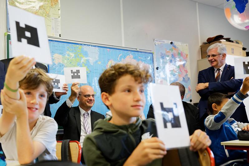 Déplacement à l'école La Source de Chaudefonds-sur-Layon