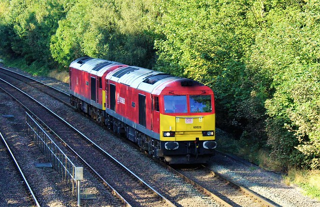 DB Cargo 60020 & 60091 - Chesterfield