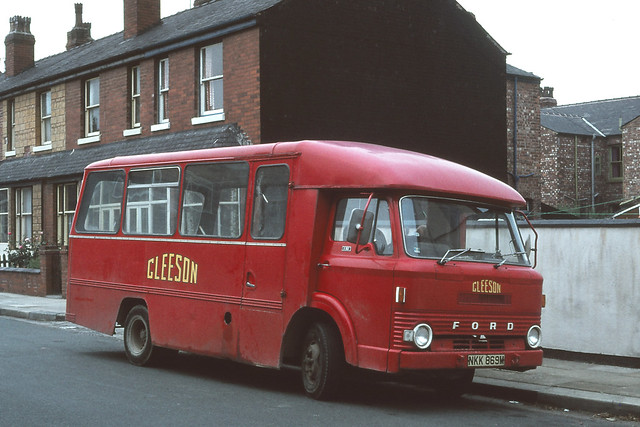 Gleeson ( Contractor ) . NKK869M . Eccles , Manchester . Sunday 30th-September-1979 .