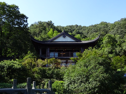 The Emperor's Tea House with the old Dragon well