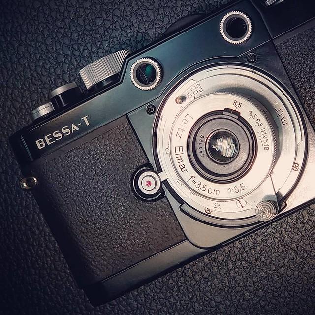 Leica elmar 35mm f3.5 餅鏡三寶