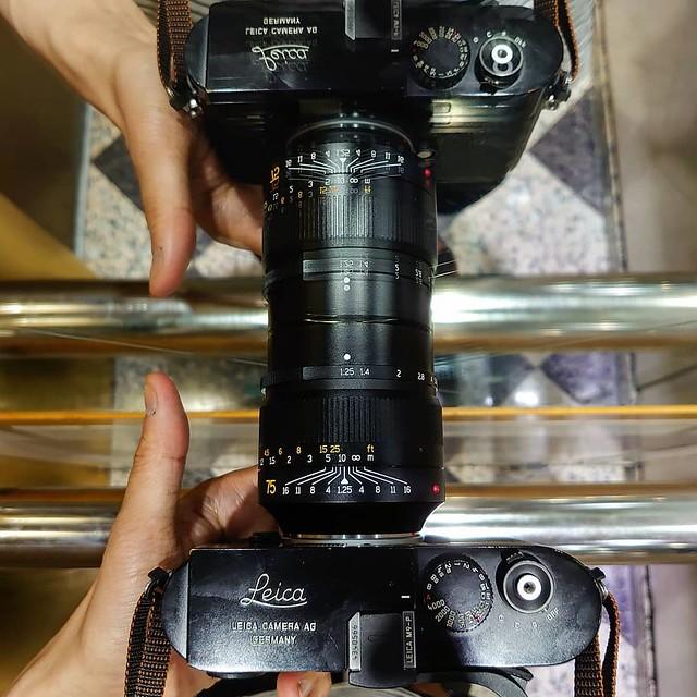 七工匠NOCT vs Leica M9P