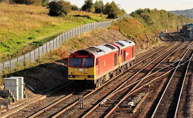 DB Cargo 60091 & 60020 - Chesterfield