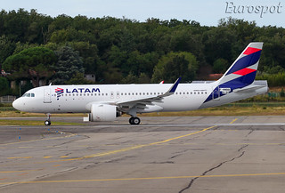 F-WWBB Airbus A320 Neo LATAM