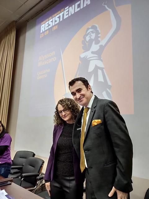 Lançamento dos livros de Luciana Genro e Alysson Mascaro