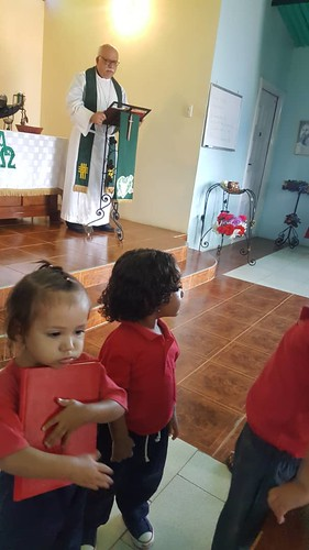 Opening service of morning prayer.