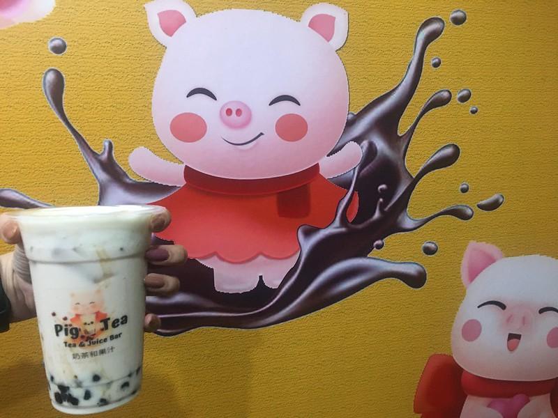 Pig Tea, Santa Lucia