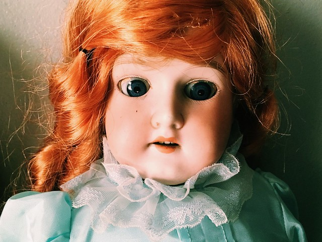 Haunted German Bisque Doll